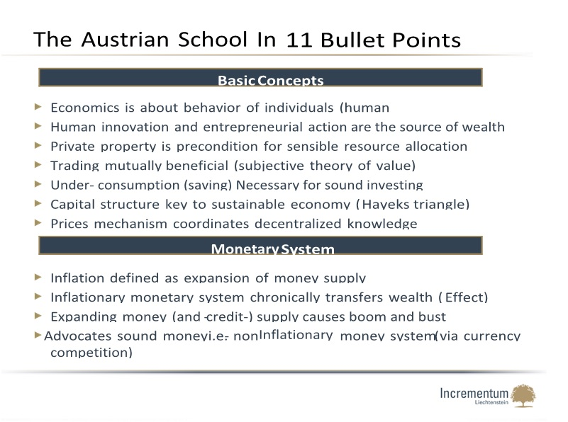 austrian school cost essay Austrian economics: methodology, concepts, and this essay has two purposes we are not suggesting that the austrian school of.